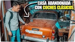 CASA ABANDONADA INTACTA con COCHES CLASICOS ! - Exploracion Urbana Lugares Abandonados en España