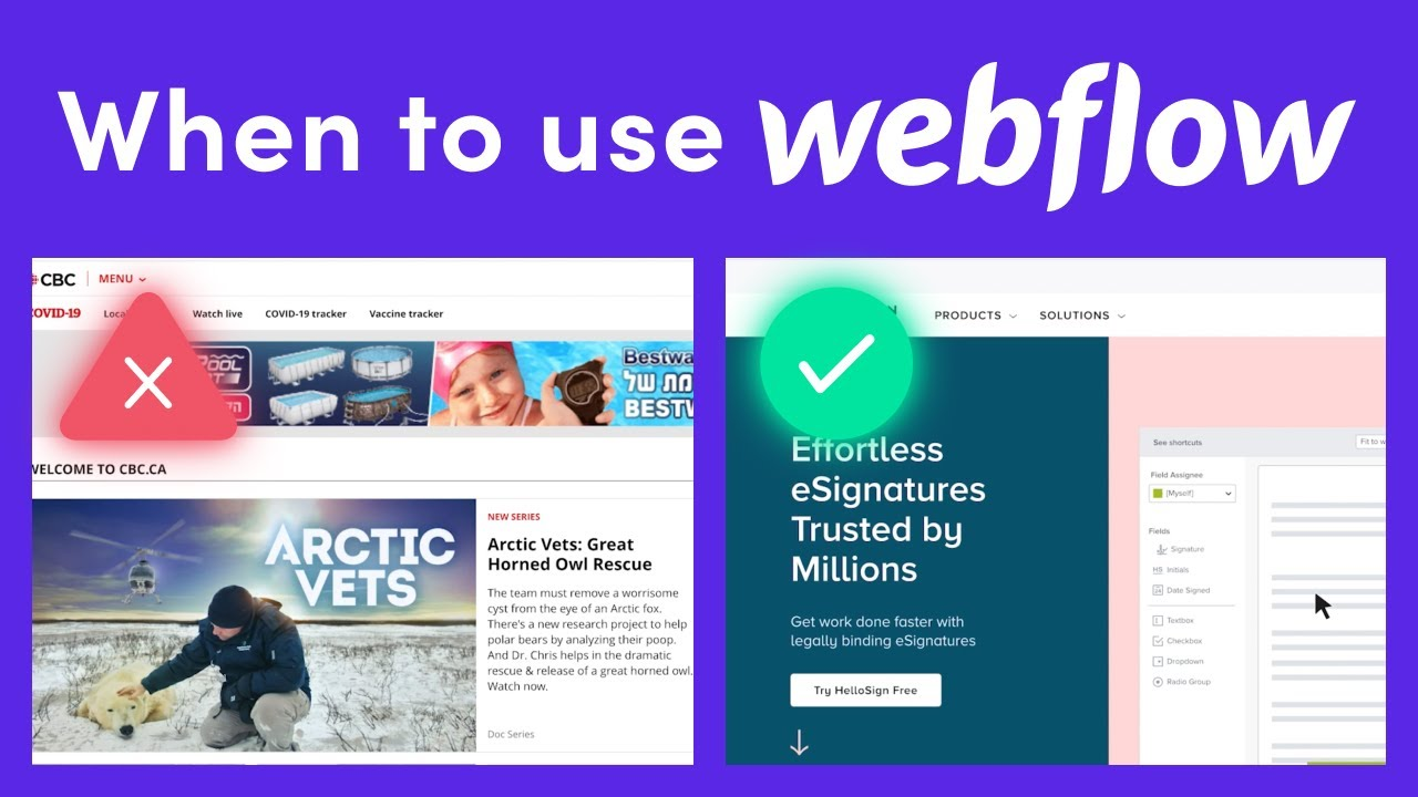 When You Should and Shouldn't Use Webflow