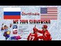 MS 2019  Čtvrtfinále  Rusko - USA 4:3  Highlights - YouTube