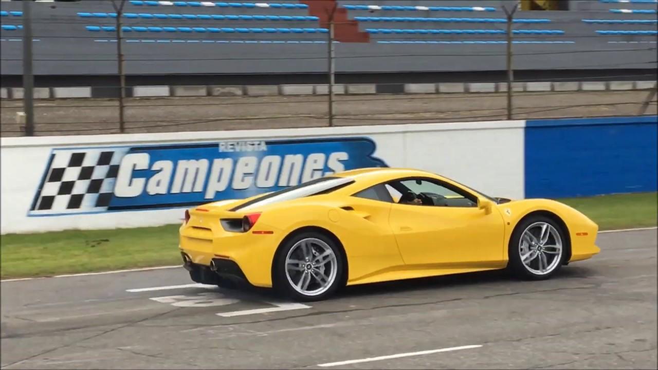 Ferrari 488 Gtb En El Autodromo De Buenos Aires Autoblog Com Ar