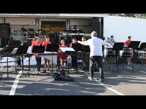 Roselle Park Middle School Percussion Ensemble 6-9-17 -C Jam Blues