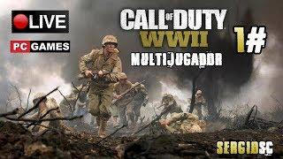 Call of Duty: WWII - 1# Multijugador Gameplay PC Open Beta | DIRECTO Español - SergioSC