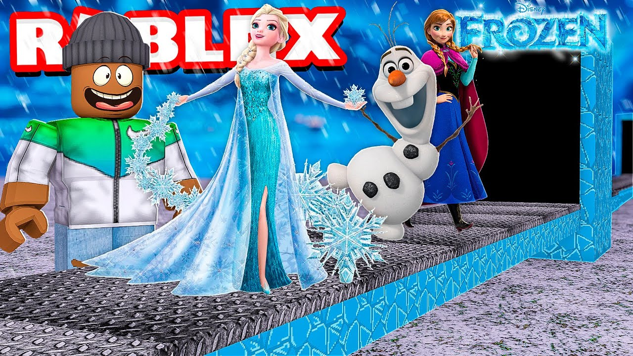 Building My Own FROZEN 2 Movie Tycoon in Roblox! thumbnail