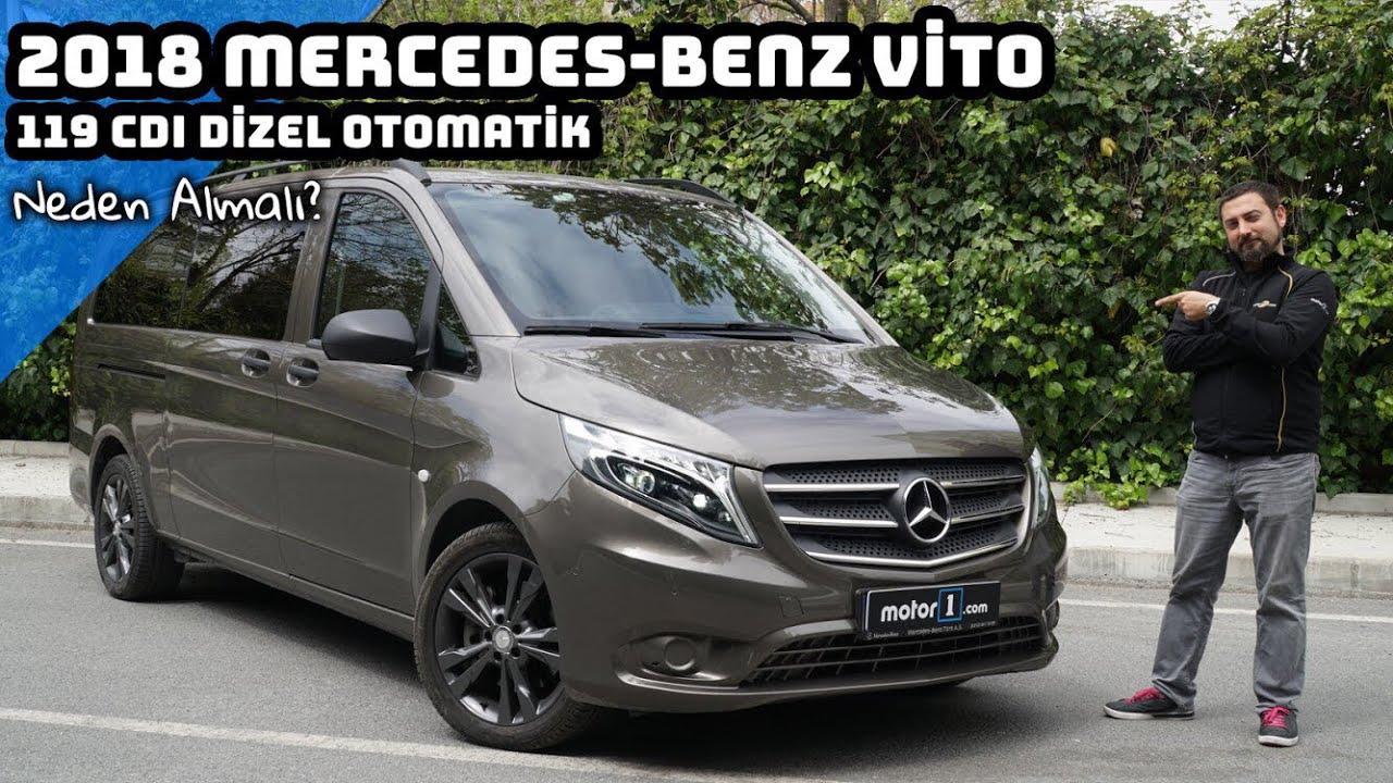 2018 Mercedes Vito 119 CDI Dizel Otomatik | Neden Almalı ? (English Subtitled)