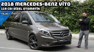 2018 Mercedes Vito 119 CDI Dizel Otomatik | Neden Almalı ? (English Subtitled) Video