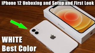iPhone 12 - Unboxing, Setup and Review (WHITE COLOR)