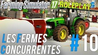 RolePlay - Farming Simulator 17 | Les Fermes Concurrentes | Épisode 10 | Un Rodeur... Déneigement !