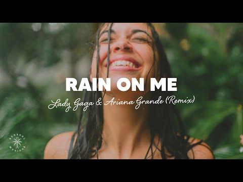 Lady Gaga, Ariana Grande - Rain On Me (Lyrics) Purple Disco Machine Remix