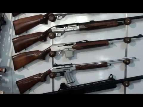 Алания, Турция. Оружейный магазин.