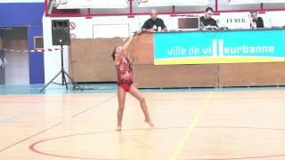 Twirling Bâton Médaille d'argent Maïwen Croize