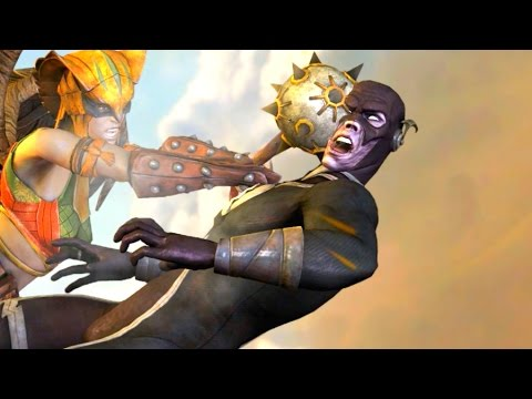 Injustice Gods Among Us All Super Moves on The Flash
