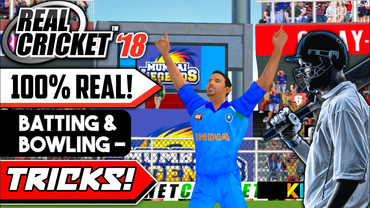 🔥Real Cricket 18 Batting And Bowling Tricks & Tips 100% Working | Full  Tutorial