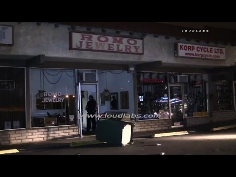 Jewlery Store Robbery / Torrance  RAW FOOTAGE