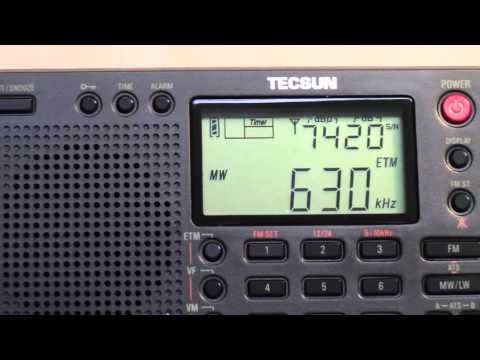 Tecsun PL-380 AM/FM/SW Portable Radio