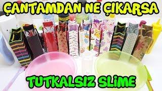 No Glue Slime - Slime Challenge - Glaxy Slime vs Green Slime