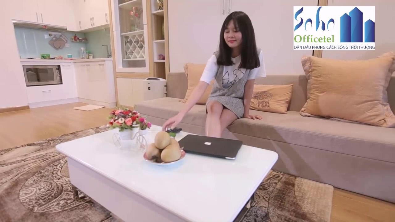 Giải pháp nội thất thông minh cho căn hộ SOHO Officetel | 093.293.6899
