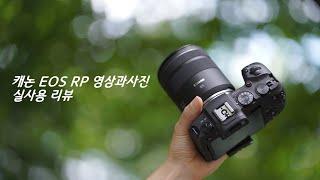 캐논 EOS RP 풀프레임미러리스  영상과 사진 실사용…