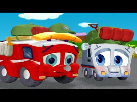 Finley The Fire Engine | Odd Coupla Trucks| Full Episode | Cartoons For Kids