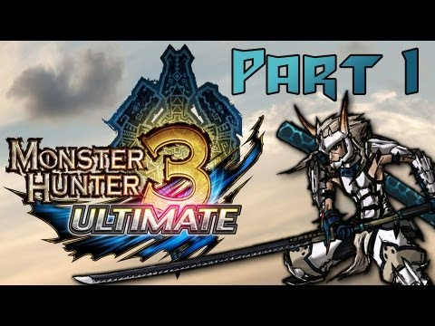 Прохождение monster hunter 3