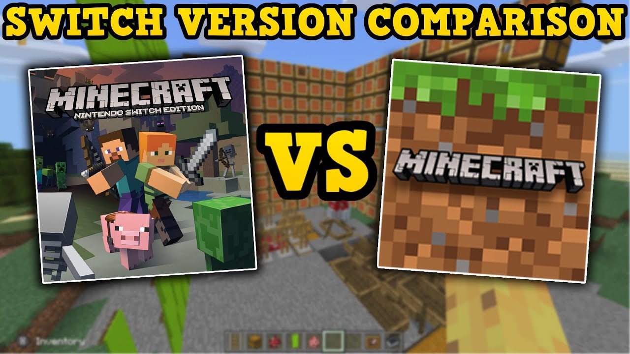Minecraft - Old Switch Vs New Switch - 10 KEY Differences