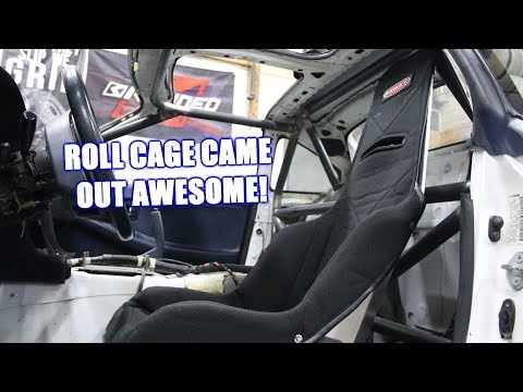 The Roll Cage in the Mr2 is Complete (Basically) Now We Just Need a Engine!