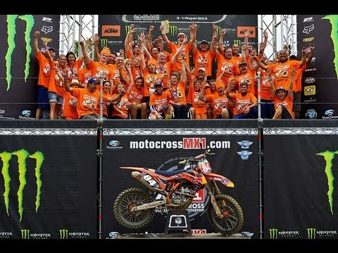 MXGP of Czech Republic 2013 - Jeffrey Herlings MX2 Crowned Champion - Motocross