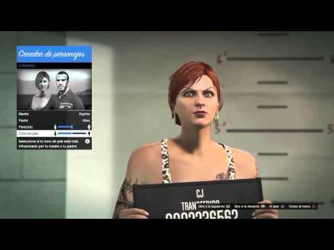 Cambiar la apariencia de tu personaje online trucazo gta for Cuarto personaje gta 5