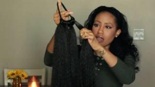 Video Under $5 DIY Ponytail Extension + Demo   My boyfriend cut my hair!? download MP3, 3GP, MP4, WEBM, AVI, FLV Maret 2018