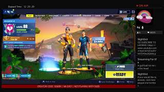 ||Fortnite Live! Girl PS4 Player - 600+ WINS! - SEASON 8 GRIND - PODCAST TIME!||