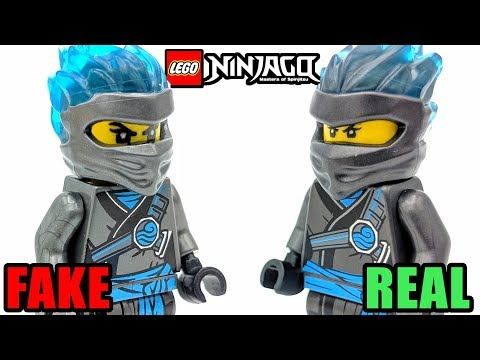New LEGO Ninjago FAKE vs REAL Season 11 Minifigures! (2019)