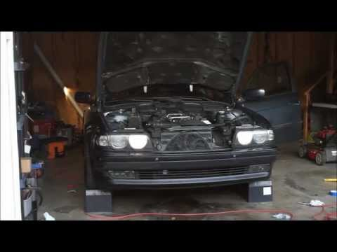 e38 bmw start up after timing guide replacement