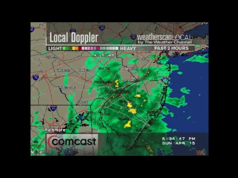 Weatherscan Local Emulator - Philadelphia, PA