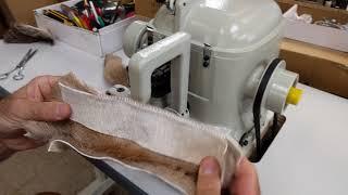 Techsew 602 Industrial Sewing Machine Sample WL