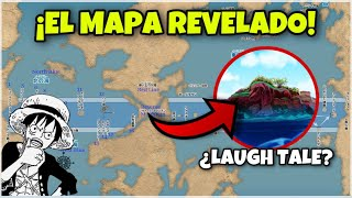 SE REVELA EL MAPA OFICIAL DE ONE PIECE! ELBAF, LOAD STAR Y... ¿LAUGH TALE? - One Piece Teoría