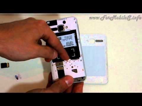 Alcatel Star dual-sim - Inserimento delle due microSIM e della microSD