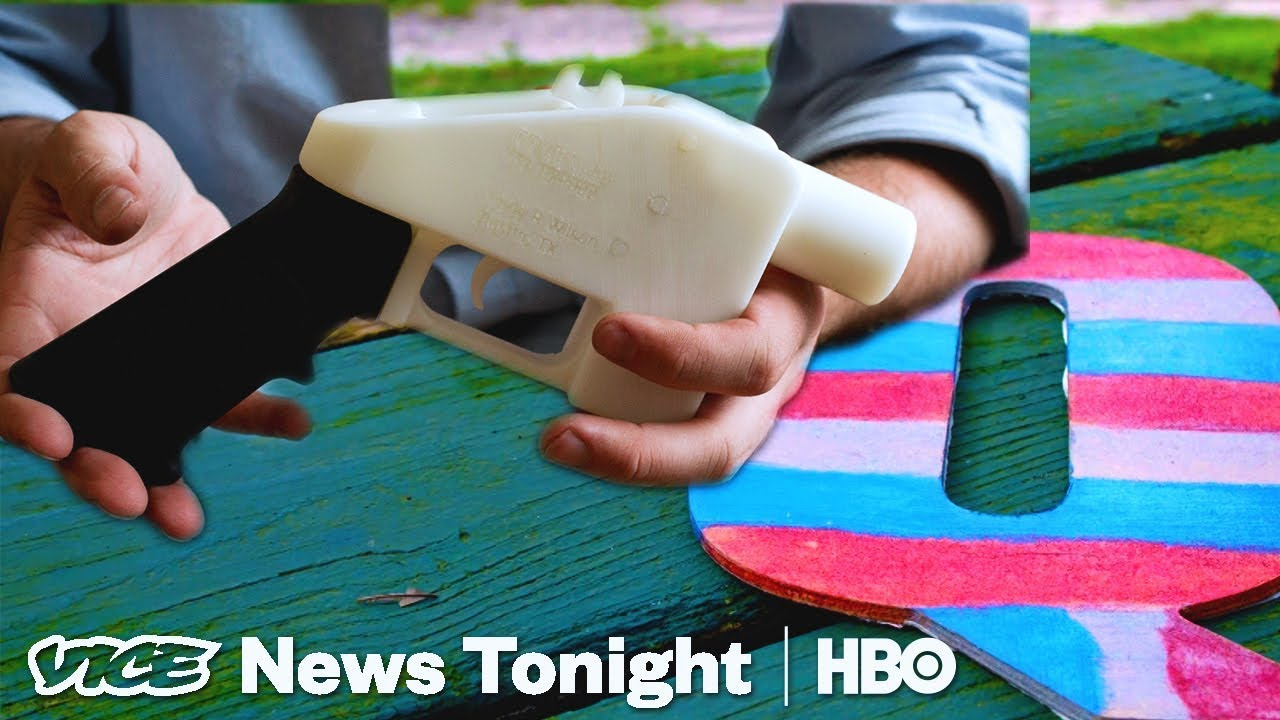 3D-Printed Guns & QAnon Conspiracy: VICE News Tonight Full Episode (HBO)