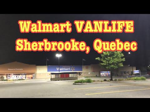 Walmart, Sherbrooke, Quebec.. The Review #vanlife