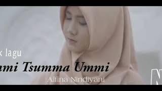 Lirik lagu UMMI TSUMMA UMMI. Cover by Alfina Nindiyani