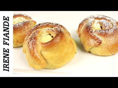 Как приготовить булочки с творогом из дрожжевого теста