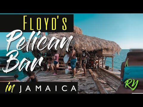 Floyd's Pelican Bar  2018 | Jamaica travel vlog (HD)