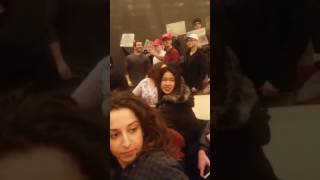Gavin McInnes Interrupted by Protesters at NYU