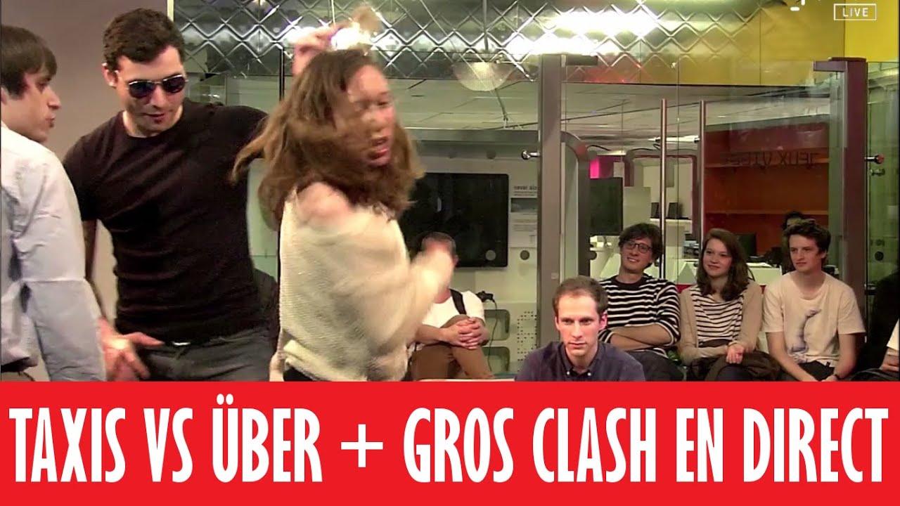 Taxis vs Über + GROS CLASH EN DIRECT !!!   DAVA 3