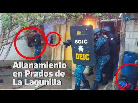 PNC dramatiza captura de pandillero en San Pedro Ayampuc | Prensa Libre