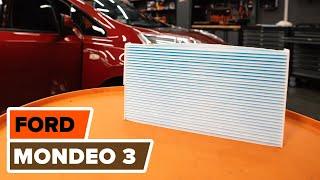 Hur byter man Hållare, krängningshämmarfäste FORD MONDEO III Saloon (B4Y) - online gratis video