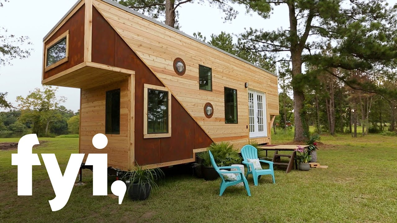 Tiny House Nation: An Emotional Tiny House Reveal (Season 9, Episode 9) |  FYI