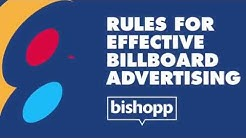 8 Rules For Effective Billboard Advertising