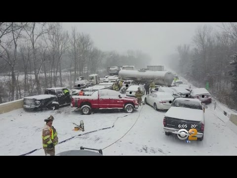 Pileup On I-91 In Connecticut