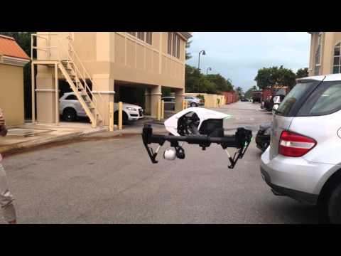 DJI Inspire 1 first flights - Cayman Island