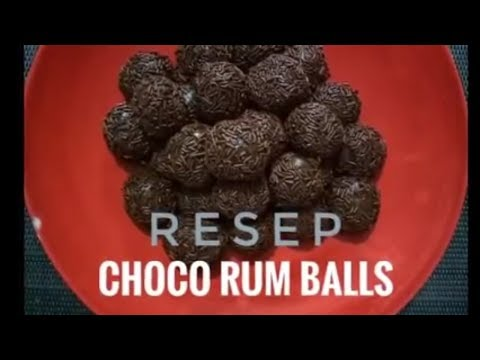 COOKING VLOG : CHOCO RUM BALLS ( in bahasa indonesia )