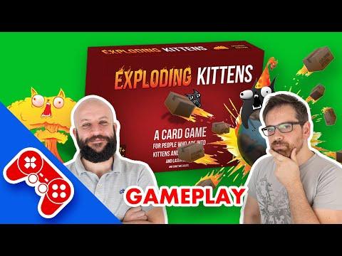 Exploding Kittens - Gameplay ITA - Attenzione gattini esplosivi!!!